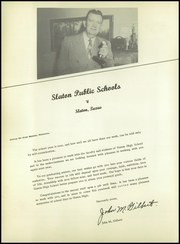 Page 12, 1955 Edition, Slaton High School - Tigers Lair Yearbook (Slaton, TX) online yearbook collection
