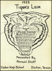 Page 5, 1955 Edition, Slaton High School - Tigers Lair Yearbook (Slaton, TX) online yearbook collection