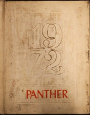 1972 Edition, Westwood High School - Panther Yearbook (Palestine, TX)