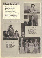Page 8, 1945 Edition, Brady High School - Bulldog Yearbook (Brady, TX) online yearbook collection