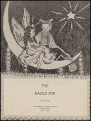 Page 5, 1952 Edition, Fairfield High School - Eagle Eye Yearbook (Fairfield, TX) online yearbook collection
