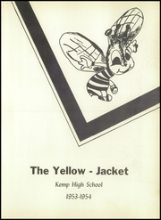 Page 5, 1954 Edition, Kemp High School - Yellow Jacket Yearbook (Kemp, TX) online yearbook collection