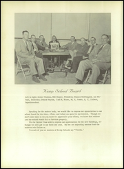 Page 10, 1956 Edition, Kemp High School - Yellow Jacket Yearbook (Kemp, TX) online yearbook collection