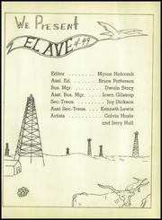 Page 5, 1949 Edition, Crane High School - El Ave Yearbook (Crane, TX) online yearbook collection