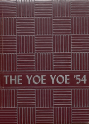 Page 1, 1954 Edition, Yoe High School - Yoe Yoe Yearbook (Cameron, TX) online yearbook collection