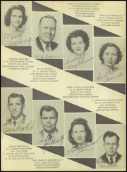 Page 11, 1947 Edition, Hondo High School - Owl Yearbook (Hondo, TX) online yearbook collection