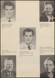Page 13, 1950 Edition, Hondo High School - Owl Yearbook (Hondo, TX) online yearbook collection