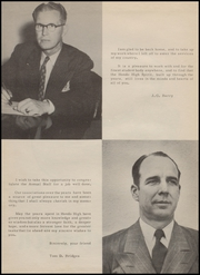 Page 8, 1951 Edition, Hondo High School - Owl Yearbook (Hondo, TX) online yearbook collection