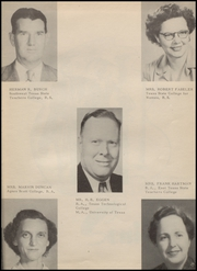 Page 9, 1951 Edition, Hondo High School - Owl Yearbook (Hondo, TX) online yearbook collection