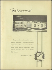 Page 9, 1947 Edition, Trinity High School - Tiger Yearbook (Trinity, TX) online yearbook collection