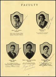 Page 17, 1934 Edition, Anahuac High School - Anahuaconian Yearbook (Anahuac, TX) online yearbook collection