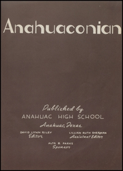 Page 7, 1948 Edition, Anahuac High School - Anahuaconian Yearbook (Anahuac, TX) online yearbook collection