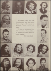 Page 8, 1948 Edition, Anahuac High School - Anahuaconian Yearbook (Anahuac, TX) online yearbook collection