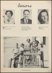 Page 8, 1952 Edition, Anahuac High School - Anahuaconian Yearbook (Anahuac, TX) online yearbook collection