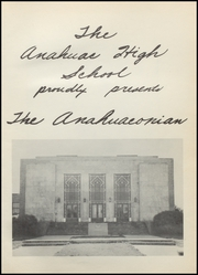 Page 5, 1953 Edition, Anahuac High School - Anahuaconian Yearbook (Anahuac, TX) online yearbook collection