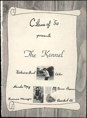 Page 7, 1950 Edition, Clyde High School - Kennel Yearbook (Clyde, TX) online yearbook collection