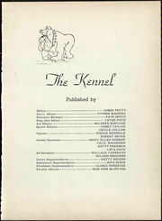 Page 9, 1952 Edition, Clyde High School - Kennel Yearbook (Clyde, TX) online yearbook collection