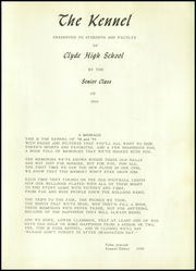 Page 5, 1959 Edition, Clyde High School - Kennel Yearbook (Clyde, TX) online yearbook collection