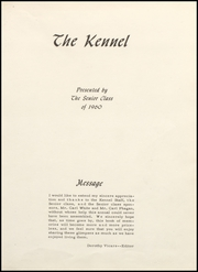 Page 5, 1960 Edition, Clyde High School - Kennel Yearbook (Clyde, TX) online yearbook collection