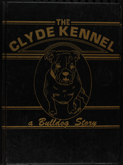 1981 Edition, Clyde High School - Kennel Yearbook (Clyde, TX)