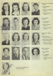 Page 10, 1946 Edition, Ballinger High School - Paw Prints Yearbook (Ballinger, TX) online yearbook collection