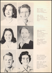 Page 12, 1952 Edition, Ballinger High School - Paw Prints Yearbook (Ballinger, TX) online yearbook collection