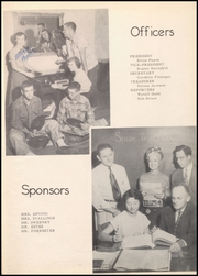 Page 17, 1952 Edition, Ballinger High School - Paw Prints Yearbook (Ballinger, TX) online yearbook collection