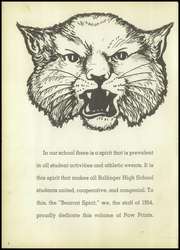 Page 6, 1954 Edition, Ballinger High School - Paw Prints Yearbook (Ballinger, TX) online yearbook collection