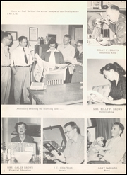 Page 10, 1956 Edition, Ballinger High School - Paw Prints Yearbook (Ballinger, TX) online yearbook collection