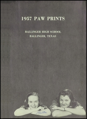 Page 5, 1957 Edition, Ballinger High School - Paw Prints Yearbook (Ballinger, TX) online yearbook collection