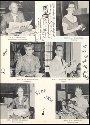 Page 16, 1959 Edition, Ballinger High School - Paw Prints Yearbook (Ballinger, TX) online yearbook collection