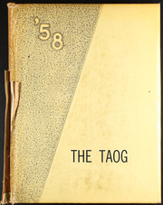 1958 Edition, Groesbeck High School - Taog Yearbook (Groesbeck, TX)