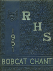 1951 Edition, Refugio High School - Bobcat Chant (Refugio, TX)