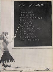 Page 7, 1953 Edition, Refugio High School - Bobcat Chant (Refugio, TX) online yearbook collection