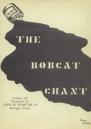 Page 5, 1956 Edition, Refugio High School - Bobcat Chant (Refugio, TX) online yearbook collection