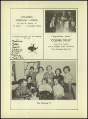 Page 98, 1957 Edition, Columbus High School - Cardinal Yearbook (Columbus, TX) online yearbook collection