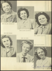 Page 15, 1948 Edition, Coleman High School - Corral Yearbook (Coleman, TX) online yearbook collection