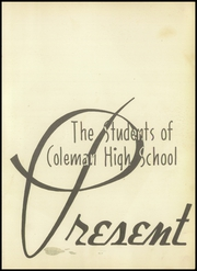 Page 5, 1948 Edition, Coleman High School - Corral Yearbook (Coleman, TX) online yearbook collection