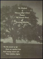 Page 5, 1951 Edition, Coleman High School - Corral Yearbook (Coleman, TX) online yearbook collection