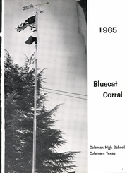 Page 5, 1965 Edition, Coleman High School - Corral Yearbook (Coleman, TX) online yearbook collection