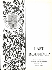 Page 5, 1942 Edition, Jesuit High School - Last Roundup Yearbook (Dallas, TX) online yearbook collection