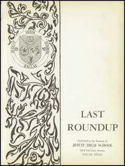 Page 5, 1957 Edition, Jesuit High School - Last Roundup Yearbook (Dallas, TX) online yearbook collection