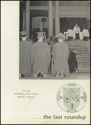 Page 5, 1958 Edition, Jesuit High School - Last Roundup Yearbook (Dallas, TX) online yearbook collection