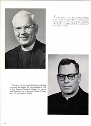 Page 10, 1960 Edition, Jesuit High School - Last Roundup Yearbook (Dallas, TX) online yearbook collection