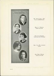 Page 10, 1921 Edition, Quanah High School - Quahi Yearbook (Quanah, TX) online yearbook collection