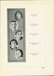 Page 11, 1921 Edition, Quanah High School - Quahi Yearbook (Quanah, TX) online yearbook collection
