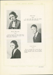 Page 17, 1921 Edition, Quanah High School - Quahi Yearbook (Quanah, TX) online yearbook collection