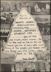 Page 8, 1952 Edition, Quanah High School - Quahi Yearbook (Quanah, TX) online yearbook collection