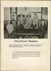 Page 10, 1955 Edition, Quanah High School - Quahi Yearbook (Quanah, TX) online yearbook collection