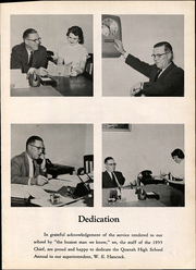Page 7, 1955 Edition, Quanah High School - Quahi Yearbook (Quanah, TX) online yearbook collection
